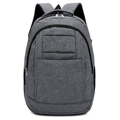 Fashion Simple Wild Large Canvas Men'S Outdoor Travel Backpack