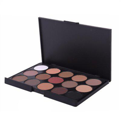 Smoky Matte Eyeshadow Pallete Mixed Color Baking Powder