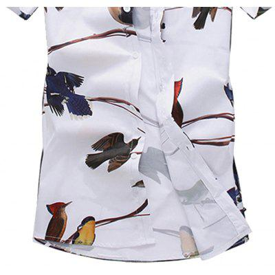 2018 New Tiling Mens Bird 3D Print ShirtMens Shirts<br>2018 New Tiling Mens Bird 3D Print Shirt<br><br>Collar: Turn-down Collar<br>Material: Nylon<br>Package Contents: 1x Shirt<br>Shirts Type: Casual Shirts<br>Sleeve Length: Short<br>Weight: 0.3500kg