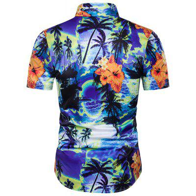 Mens Floral Hawaii Beach Short Sleeve ShirtMens Shirts<br>Mens Floral Hawaii Beach Short Sleeve Shirt<br><br>Collar: Turn-down Collar<br>Material: Cotton<br>Package Contents: 1x shirt<br>Shirts Type: Casual Shirts<br>Sleeve Length: Short<br>Weight: 0.3000kg