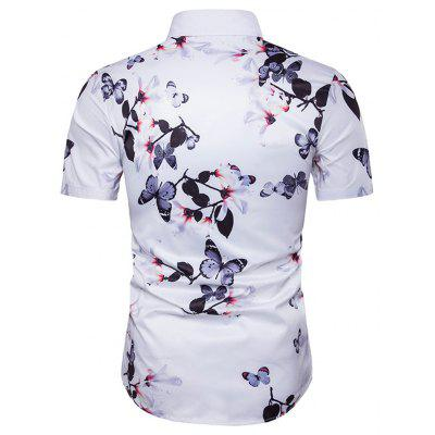 New Floral Short-Sleeved Sand ShirtMens Shirts<br>New Floral Short-Sleeved Sand Shirt<br><br>Collar: Turn-down Collar<br>Material: Cotton<br>Package Contents: 1x Shirt<br>Shirts Type: Casual Shirts<br>Sleeve Length: Short<br>Weight: 0.3000kg