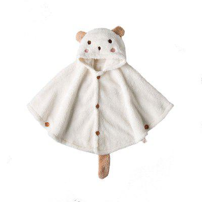 Children's Clothing Baby Cashmere Cape Warm Jacket