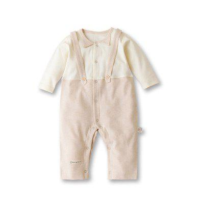 Baby Long-sleeved Bib Harem Clothing Out Romper Jumpsuit