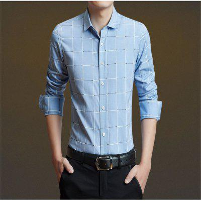 Mens Business Leisure and Long Sleeve ShirtMens Shirts<br>Mens Business Leisure and Long Sleeve Shirt<br><br>Collar: V-Neck, V-Neck<br>Material: Acetate, Acetate<br>Package Contents: 1 x Shirt, 1 x Shirt<br>Shirts Type: Formal Shirts, Formal Shirts<br>Sleeve Length: Full, Full<br>Weight: 0.2300kg, 0.2300kg