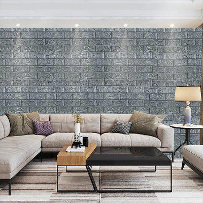 3D Wall Sticker Brick Pattern Self-adhesive WallpaperWall Stickers<br>3D Wall Sticker Brick Pattern Self-adhesive Wallpaper<br><br>Function: Decorative Wall Sticker<br>Material: Vinyl(PVC)<br>Package Contents: 1 x Wall Sticke<br>Package size (L x W x H): 30.00 x 30.00 x 1.00 cm / 11.81 x 11.81 x 0.39 inches<br>Package weight: 0.2000 kg<br>Product size (L x W x H): 60.00 x 30.00 x 0.50 cm / 23.62 x 11.81 x 0.2 inches<br>Product weight: 0.1800 kg<br>Quantity: 1<br>Subjects: Fashion<br>Suitable Space: Living Room,Bedroom<br>Type: 3D Wall Sticker