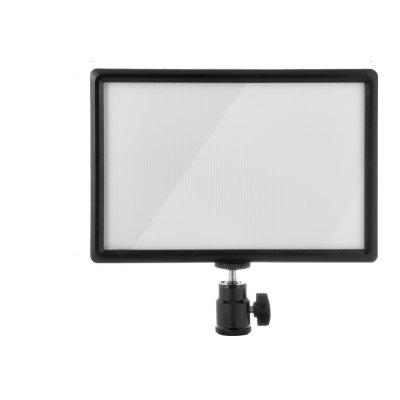 Pangshi Ultra-thin LED Video Light Panel with Hot Shoe Mount for Canon Nikon Son