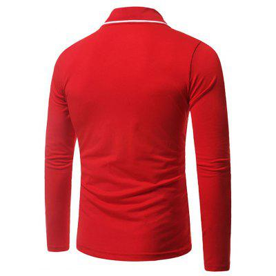 Mens  Long Sleeve  R Letter  Casual Fashion Polo ShirtMens Short Sleeve Tees<br>Mens  Long Sleeve  R Letter  Casual Fashion Polo Shirt<br><br>Collar: Turn-down Collar<br>Color Style: Solid<br>Fabric Type: Broadcloth<br>Material: Cotton Blends<br>Package Contents: 1x polo Shirt<br>Pattern Type: Others<br>polo Shirt: None<br>Sleeve Length: Full<br>Style: Casual<br>Type: Regular<br>Weight: 0.3000kg
