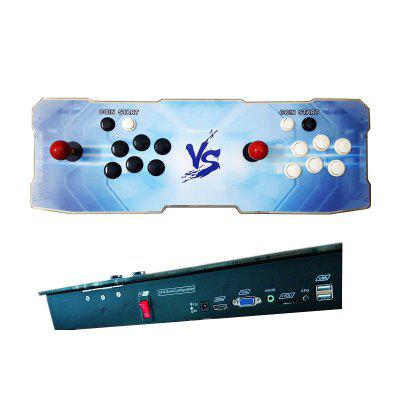 1299 Video Games Arcade Console Machine Double Joystick Pandoras Box 5s+ VGA HDMI 03Handheld Games<br>1299 Video Games Arcade Console Machine Double Joystick Pandoras Box 5s+ VGA HDMI 03<br><br>Brand: Other<br>Charge way: AC adapter<br>Compatible with: TV, PC, Built-in Games, Game Console<br>Language: Korea<br>Operating system: Android<br>Package Contents: 1 x Arcade Console, 2 x buttons, 1 x HDMI Cable, 1 x USB Cable, 1 x VGA Cable, 1 x 12V3A Power adapter ,1 x Plug, 1 x English User manual<br>Package size: 71.00 x 25.00 x 17.00 cm / 27.95 x 9.84 x 6.69 inches<br>Package weight: 5.0000 kg<br>Pre-positioned Games Number: 1299<br>Product size: 66.00 x 22.50 x 6.50 cm / 25.98 x 8.86 x 2.56 inches<br>Product weight: 3.2200 kg<br>ROM: 16GB<br>TF Card Extension: No