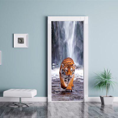 3D Tiger Under The Waterfall Scenery Door Sticker High Mountain Running RiverWall Stickers<br>3D Tiger Under The Waterfall Scenery Door Sticker High Mountain Running River<br><br>Art Style: Plane Wall Stickers, Toilet Stickers<br>Color Scheme: Multicolor<br>Effect Size (L x W): 200 x 77 cm<br>Function: Decorative Wall Sticker, 3D Effect<br>Layout Size (L x W): 200 x 77 cm<br>Material: Paper, Vinyl(PVC)<br>Package Contents: 1 x Set of Door Stickers<br>Package size (L x W x H): 40.00 x 6.00 x 6.00 cm / 15.75 x 2.36 x 2.36 inches<br>Package weight: 0.4800 kg<br>Product weight: 0.4500 kg<br>Quantity: 1 Set<br>Sizes: Others<br>Subjects: Fashion,Animal,Flower,Landscape,3D,Romance<br>Suitable Space: Living Room,Bedroom,Office,Cafes,Kids Room,Pathway,Corridor,Kids Room,Study Room / Office,Boys Room,Girls Room<br>Type: 3D Wall Sticker, Plane Wall Sticker