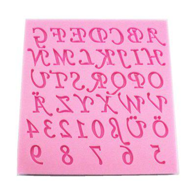 Letters Digitals Sillicone Fondant Mold for Cake Sugar Craft Chocolate CookieBaking &amp; Pastry Tools<br>Letters Digitals Sillicone Fondant Mold for Cake Sugar Craft Chocolate Cookie<br><br>Available Color: Pink<br>Material: Silicone<br>Package Contents: 1 x Letters Digital Cake Mold<br>Package size (L x W x H): 12.00 x 11.50 x 1.00 cm / 4.72 x 4.53 x 0.39 inches<br>Package weight: 0.1000 kg<br>Product size (L x W x H): 11.50 x 11.00 x 0.70 cm / 4.53 x 4.33 x 0.28 inches<br>Product weight: 0.0900 kg<br>Type: Bakeware