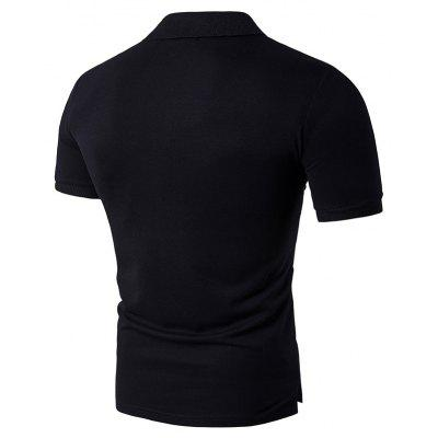 Mens Comfy T Shirt Short Sleeve Breathable Casual Soft TopMens Short Sleeve Tees<br>Mens Comfy T Shirt Short Sleeve Breathable Casual Soft Top<br><br>Collar: Polo Collar<br>Color Style: Solid<br>Fabric Type: Broadcloth<br>Material: Cotton<br>Package Contents: 1 x T Shirt<br>Pattern Type: Others<br>Sleeve Length: Short<br>Style: Casual<br>Type: Regular<br>Weight: 0.2000kg