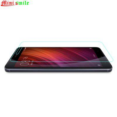 Minismile 9H Tempered Glass Film Screen Protector for Xiaomi Redmi Note 4Screen Protectors<br>Minismile 9H Tempered Glass Film Screen Protector for Xiaomi Redmi Note 4<br><br>Compatible Model: Xiaomi Redmi Note 4<br>Features: Protect Screen, Anti-oil, Anti scratch, Anti fingerprint, High-definition, High sensitivity, Ultra thin, Waterproof, Shock Proof, High Transparency<br>Mainly Compatible with: Xiaomi<br>Material: Tempered Glass<br>Package Contents: 1 x Screen Protector, 1 x Wipe, 1 x Dust Sticker, 1 x Wet Wipe<br>Package size (L x W x H): 18.00 x 10.00 x 0.50 cm / 7.09 x 3.94 x 0.2 inches<br>Package weight: 0.0260 kg<br>Product Size(L x W x H): 14.50 x 6.90 x 0.02 cm / 5.71 x 2.72 x 0.01 inches<br>Product weight: 0.0080 kg<br>Surface Hardness: 9H<br>Thickness: 0.2mm<br>Type: Screen Protector