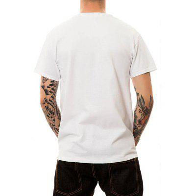 Mens Casual 3D Print Cotton Short Sleeves T-shirtMens Short Sleeve Tees<br>Mens Casual 3D Print Cotton Short Sleeves T-shirt<br><br>Collar: Round Neck<br>Embellishment: 3D Print<br>Fabric Type: Broadcloth<br>Material: Cotton<br>Package Contents: 1 x T-shirt<br>Pattern Type: Figure<br>Sleeve Length: Short Sleeves<br>Style: Casual<br>Weight: 0.1800kg