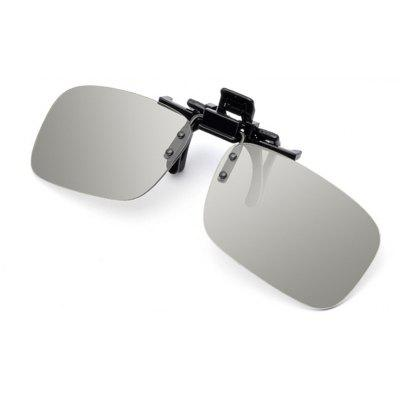 Buy Night Vision Glasses Polarized Driving Fishing Clip For Sunglassess, GRAY, SQUARE, Apparel, Glasses, Stylish Sunglasses, Men's Sunglasses for $7.79 in GearBest store