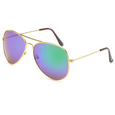 Buy Unisex Women Men Vintage Sunglasses Fashion Aviator Mirror Lens Glasses, MULTI-A, Apparel, Glasses, Stylish Sunglasses, Men's Sunglasses for $5.99 in GearBest store
