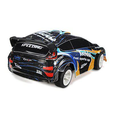 1:24 4WD 2.4G 35km/h Rally CarRC Cars<br>1:24 4WD 2.4G 35km/h Rally Car<br><br>Age: Above 6 years old<br>Battery Information: 7.4V 500mAh 20C Lipo Battery<br>Car Power: Built-in rechargeable battery<br>Charging Time: 120 Minutes<br>Control Distance: Over 100m<br>Detailed Control Distance: 100m<br>Drive Type: 4 WD<br>Features: Radio Control<br>Functions: Forward/backward, LED, Turn left/right<br>Material: Electronic Components, PA<br>Motor Type: Brushed Motor<br>Package Contents: 1 x RC Car (Battery Included),  1 x Transmitter,  1 x Charger, 1 x English Manual<br>Package size (L x W x H): 37.00 x 19.00 x 24.00 cm / 14.57 x 7.48 x 9.45 inches<br>Package weight: 1.1220 kg<br>Product size (L x W x H): 20.30 x 11.40 x 7.00 cm / 7.99 x 4.49 x 2.76 inches<br>Product weight: 0.2546 kg<br>Proportion: 1:24<br>Racing Time: 20mins<br>Remote Control: 2.4GHz Wireless Remote Control<br>Speed: 35km/h<br>Transmitter Power: 4 x 1.5V AA (not included)<br>Type: Crawler Car