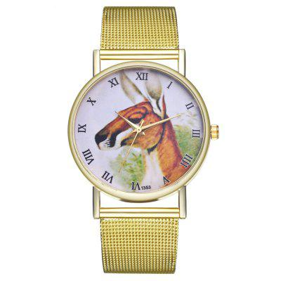 ZhouLianFa T353 Fashion Deer Head Quartz Watch