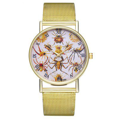 ZhouLianFa T354 Fashion Spider Pattern Quartz Watch