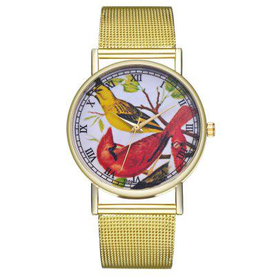 ZhouLianFa T359 Trendy Bird Pattern Quartz Watch