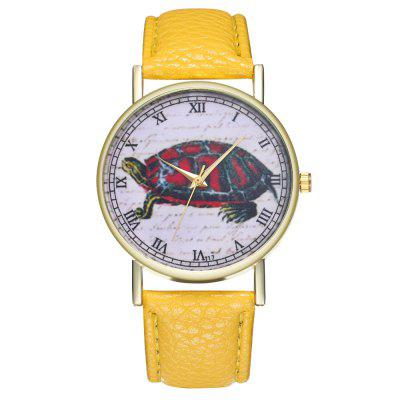 Kingou T17-1 Fine Turtle Case Mens WatchMens Watches<br>Kingou T17-1 Fine Turtle Case Mens Watch<br><br>Band material: Leather<br>Band size: 23 x 2cm<br>Case material: Alloy<br>Clasp type: Pin buckle<br>Dial size: 3.9 x 3.9 x 0.9cm<br>Display type: Analog<br>Movement type: Quartz watch<br>Package Contents: 1 x Watch, 1 x Wooden Bead Bracelet, 1 x Gift Box<br>Package size (L x W x H): 9.00 x 8.00 x 5.50 cm / 3.54 x 3.15 x 2.17 inches<br>Package weight: 0.0600 kg<br>Product size (L x W x H): 23.00 x 3.90 x 0.90 cm / 9.06 x 1.54 x 0.35 inches<br>Product weight: 0.0300 kg<br>Shape of the dial: Round<br>Watch style: Ultrathin, Fashion, Casual<br>Watches categories: Men