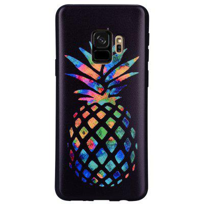 Case for Samsung Galaxy S9 Color Pineapple Soft TPU Mobile Phone Protector