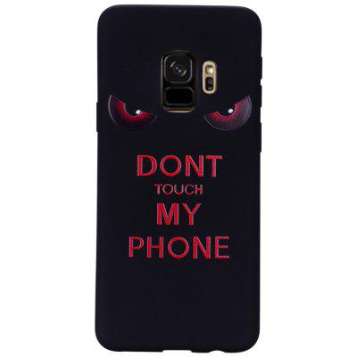 Case for Samsung Galaxy S9 Red Eyes  Soft TPU Phone Protector