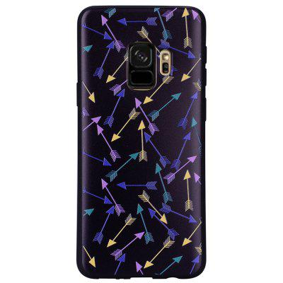 Case for Samsung Galaxy S9 Colorful Arrow  Soft TPU Phone Protector