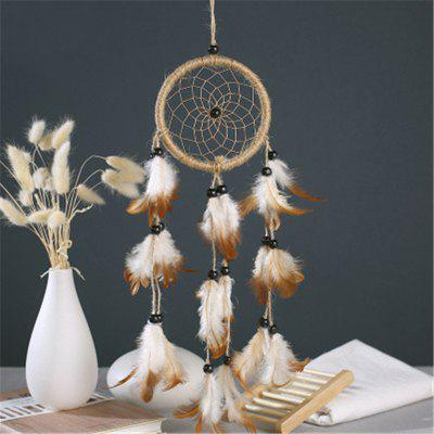 Contracted DreamcatcherS Feather Pendant Household DecorationCrafts<br>Contracted DreamcatcherS Feather Pendant Household Decoration<br><br>Package Contents: 1 x Hanging Decorations<br>Package size (L x W x H): 15.00 x 10.00 x 8.00 cm / 5.91 x 3.94 x 3.15 inches<br>Package weight: 0.0700 kg<br>Product size (L x W x H): 58.00 x 16.00 x 0.50 cm / 22.83 x 6.3 x 0.2 inches<br>Product weight: 0.0300 kg<br>Subjects: Fashion<br>Usage: Party, Wedding