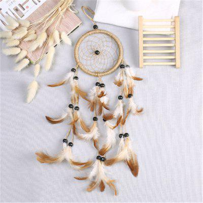 Contracted Dreamcatcher'S Feather Pendant Household Decoration