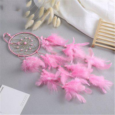 Simple Dream Net Feather Fengling Household Decorative PendantCrafts<br>Simple Dream Net Feather Fengling Household Decorative Pendant<br><br>Package Contents: 1 x Hanging Decorations<br>Package size (L x W x H): 15.00 x 10.00 x 8.00 cm / 5.91 x 3.94 x 3.15 inches<br>Package weight: 0.8000 kg<br>Product size (L x W x H): 45.00 x 11.00 x 0.50 cm / 17.72 x 4.33 x 0.2 inches<br>Product weight: 0.5000 kg<br>Subjects: Fashion<br>Usage: Party, Wedding
