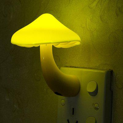 Mushroom LED Night Light Wall Socket Lamp for BedroomNight Lights<br>Mushroom LED Night Light Wall Socket Lamp for Bedroom<br><br>Battery Quantity: 1<br>Color Temperature or Wavelength: 597 - 577nm<br>Connector Type: US plug<br>Features: Decorative<br>Light Source Color: Yellow<br>Light Type: LED Night Light<br>Package Contents: 1 x Mushroom Night Light<br>Package size (L x W x H): 10.00 x 5.00 x 10.00 cm / 3.94 x 1.97 x 3.94 inches<br>Package weight: 0.0650 kg<br>Plug Type: US plug<br>Power Source: AC Charger<br>Product size (L x W x H): 8.20 x 4.00 x 9.40 cm / 3.23 x 1.57 x 3.7 inches<br>Product weight: 0.0600 kg<br>Quantity: 1<br>Style: Artistic Style<br>Wattage: 0.5W