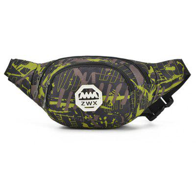 Chest Waist Bag Men Waist Pack For Women Casual Travel Camouflage Pockets