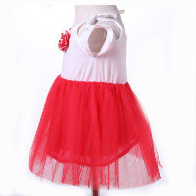 Yoyoxiu CX1124 - 2 Girls Flower Decoration Short Sleeve DressGirls dresses<br>Yoyoxiu CX1124 - 2 Girls Flower Decoration Short Sleeve Dress<br><br>Dresses Length: Knee-Length<br>Elasticity: Micro-elastic<br>Embellishment: Appliques<br>Material: Cotton Blend<br>Neckline: Round Collar<br>Package Contents: 1 x Dress<br>Pattern Type: Solid<br>Season: Summer<br>Silhouette: Ball Gown<br>Sleeve Type: Off The Shoulder<br>Style: Fashion<br>Weight: 0.2240kg<br>With Belt: No