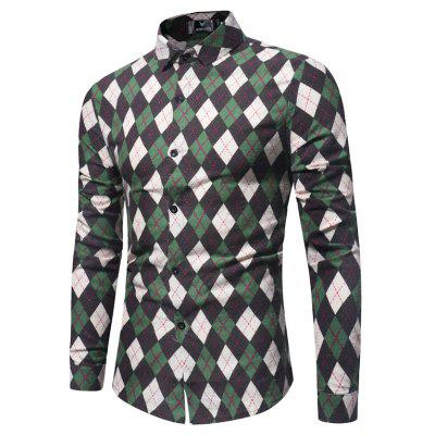 Spring and Autumn New  Long Sleeved Shirt