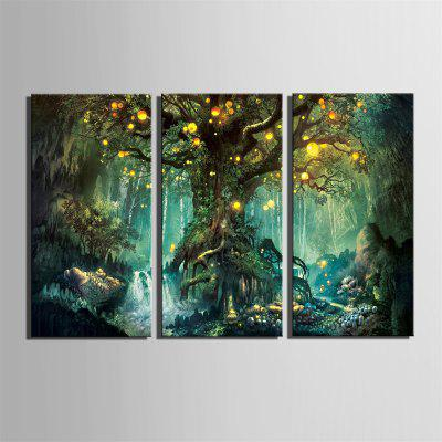Stretch LED Canvas Printing Art of Psychedelic Tree Flash Effect LED 3PCSPrints<br>Stretch LED Canvas Printing Art of Psychedelic Tree Flash Effect LED 3PCS<br><br>Craft: Print<br>Form: Three Panels<br>Material: Canvas<br>Package Contents: 3 x Print<br>Package size (L x W x H): 26.00 x 37.00 x 5.00 cm / 10.24 x 14.57 x 1.97 inches<br>Package weight: 1.3000 kg<br>Painting: Include Inner Frame<br>Product size (L x W x H): 24.00 x 34.00 x 1.50 cm / 9.45 x 13.39 x 0.59 inches<br>Product weight: 1.2000 kg<br>Shape: Vertical<br>Style: Fashion, Vintage, Active, Casual<br>Subjects: Fashion<br>Suitable Space: Indoor,Garden,Living Room,Bathroom,Bedroom,Dining Room,Office,Hotel,Cafes,Kids Room,Kids Room,Study Room / Office,Boys Room,Girls Room,Game Room