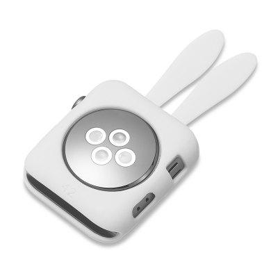 Cartoon Rabbit for Apple Watch Soft Silica Gel Protective Shell 38MMApple Watch Bands<br>Cartoon Rabbit for Apple Watch Soft Silica Gel Protective Shell 38MM<br><br>Available brand: iWatch<br>Material: Silicone<br>Package Contents: 1 x Watch Shell<br>Package size (L x W x H): 6.00 x 5.00 x 1.50 cm / 2.36 x 1.97 x 0.59 inches<br>Package weight: 0.0350 kg<br>Product size (L x W x H): 4.00 x 3.00 x 1.00 cm / 1.57 x 1.18 x 0.39 inches<br>Product weight: 0.0250 kg<br>Type: Smartwatch dial case