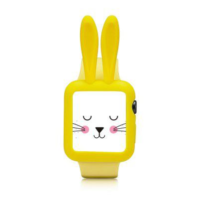 Cartoon Rabbit for Apple Watch Soft Silica Gel Protective Shell 42MMApple Watch Bands<br>Cartoon Rabbit for Apple Watch Soft Silica Gel Protective Shell 42MM<br><br>Available brand: iWatch<br>Material: Silicone<br>Package Contents: 1 x Watch Shell<br>Package size (L x W x H): 6.00 x 4.00 x 1.50 cm / 2.36 x 1.57 x 0.59 inches<br>Package weight: 0.0350 kg<br>Product size (L x W x H): 4.00 x 3.00 x 1.00 cm / 1.57 x 1.18 x 0.39 inches<br>Product weight: 0.0250 kg<br>Type: Smartwatch dial case