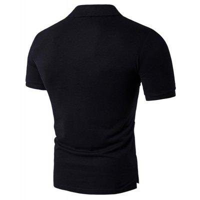 Mens Casual Short Sleeve Polo ShirtMens Short Sleeve Tees<br>Mens Casual Short Sleeve Polo Shirt<br><br>Collar: Polo Collar<br>Color Style: Solid<br>Fabric Type: Jersey<br>Feature: Breathable<br>Material: Cotton Blends<br>Package Contents: 1 x Polo<br>Pattern Type: Geometric<br>Sleeve Length: Short<br>Style: Casual<br>Type: Slim<br>Weight: 0.2500kg