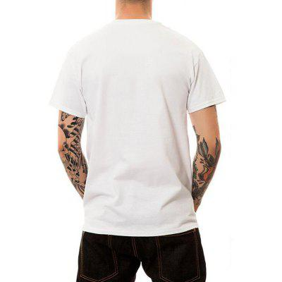 Mens Casual Cotton Round Neck Short Sleeves T-shirtMens Short Sleeve Tees<br>Mens Casual Cotton Round Neck Short Sleeves T-shirt<br><br>Collar: Round Neck<br>Embellishment: Vintage<br>Fabric Type: Broadcloth<br>Material: Cotton<br>Package Contents: 1 x T-shirt<br>Pattern Type: Solid<br>Sleeve Length: Short Sleeves<br>Style: Casual<br>Weight: 0.1600kg