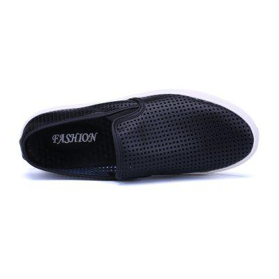 Men Outdoor Hiking Mesh Breathable ShoesFlats &amp; Loafers<br>Men Outdoor Hiking Mesh Breathable Shoes<br><br>Available Size: 35-44<br>Closure Type: Slip-On<br>Embellishment: Hollow Out<br>Gender: For Men<br>Outsole Material: Rubber<br>Package Contents: 1xShoes(pair)<br>Pattern Type: Solid<br>Season: Spring/Fall<br>Toe Shape: Round Toe<br>Toe Style: Closed Toe<br>Upper Material: Leather<br>Weight: 1.2000kg