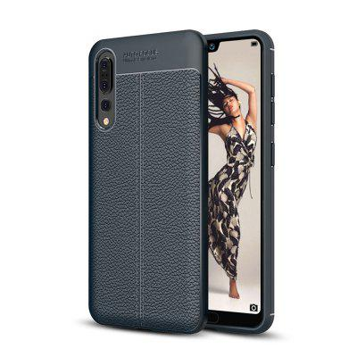 Case for Huawei P20 Pro Shockproof Back Cover Solid Color Soft TPU