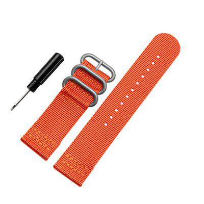 24mm Nylon Watchband for Suunto TRAVERSE Watch Band Zulu Strap Fabric Wrist Belt