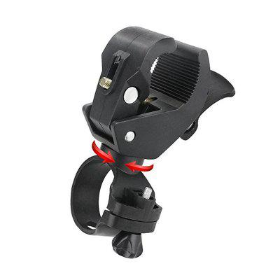 360-Degree Rotating Bicycle Headlight Bracket ClipBike Accessories<br>360-Degree Rotating Bicycle Headlight Bracket Clip<br><br>Material: Metal<br>Package Contents: 1 x Bike Light Clip<br>Package Dimension: 15.00 x 5.00 x 5.00 cm / 5.91 x 1.97 x 1.97 inches<br>Package weight: 0.0160 kg<br>Product Dimension: 12.00 x 4.00 x 4.00 cm / 4.72 x 1.57 x 1.57 inches<br>Product weight: 0.0150 kg