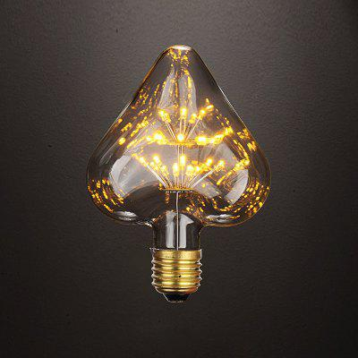 BRELONG Heart E27 3W 30LED Retro Edison Light Bulbs Gypsophila Bulb 220 -240V