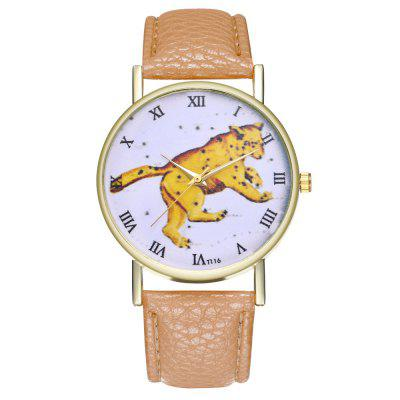 Kingo T116-1 Boutique Tiger Pattern Mens Quartz WatchMens Watches<br>Kingo T116-1 Boutique Tiger Pattern Mens Quartz Watch<br><br>Band material: Leather<br>Band size: 23 x 2cm<br>Case material: Alloy<br>Clasp type: Pin buckle<br>Dial size: 3.9 x 3.9 x 0.9cm<br>Display type: Analog<br>Movement type: Quartz watch<br>Package Contents: 1 x Watch, 1 x Wooden Bead Bracelet, 1 x Gift Box<br>Package size (L x W x H): 9.00 x 8.00 x 5.50 cm / 3.54 x 3.15 x 2.17 inches<br>Package weight: 0.0600 kg<br>Product size (L x W x H): 23.00 x 3.90 x 0.90 cm / 9.06 x 1.54 x 0.35 inches<br>Product weight: 0.0300 kg<br>Shape of the dial: Round<br>Watch mirror: Mineral glass<br>Watch style: Ultrathin, Business, Fashion, Casual<br>Watches categories: Men