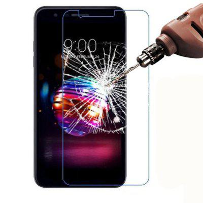 Screen Protector for LG K10 2018 High Sensitivity Clear Premium Tempered Glass benks tempered glass for xiaomi 5 2 5d radians screen protector