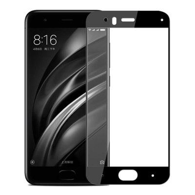2PCS Screen Protector for Xiaomi Mi6 Black High Clear Premium Tempered Glass benks tempered glass for xiaomi 5 2 5d radians screen protector