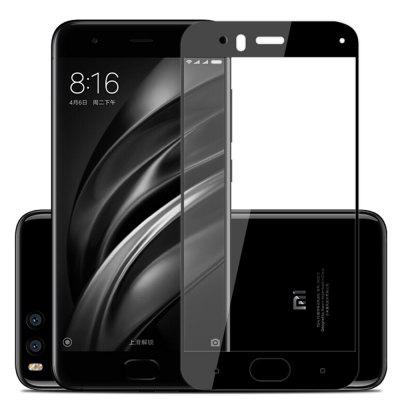 Screen Protector for Xiaomi Mi6 Black High Clear Premium Tempered Glass benks tempered glass for xiaomi 5 2 5d radians screen protector