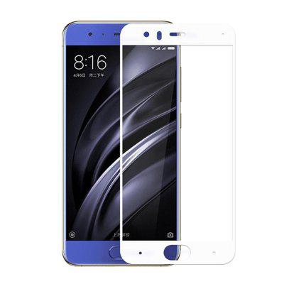 Screen Protector for Xiaomi Mi6 White High Clear Premium Tempered Glass benks tempered glass for xiaomi 5 2 5d radians screen protector