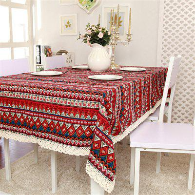 Mediterranean Style Cotton Modern Simple Table ClothHome Gadgets<br>Mediterranean Style Cotton Modern Simple Table Cloth<br><br>Materials: Cotton<br>Package Contents: 1 x Table Cloth<br>Package Size(L x W x H): 30.00 x 45.00 x 7.00 cm / 11.81 x 17.72 x 2.76 inches<br>Package weight: 0.8800 kg<br>Product Size(L x W x H): 140.00 x 180.00 x 0.56 cm / 55.12 x 70.87 x 0.22 inches<br>Product weight: 0.5800 kg